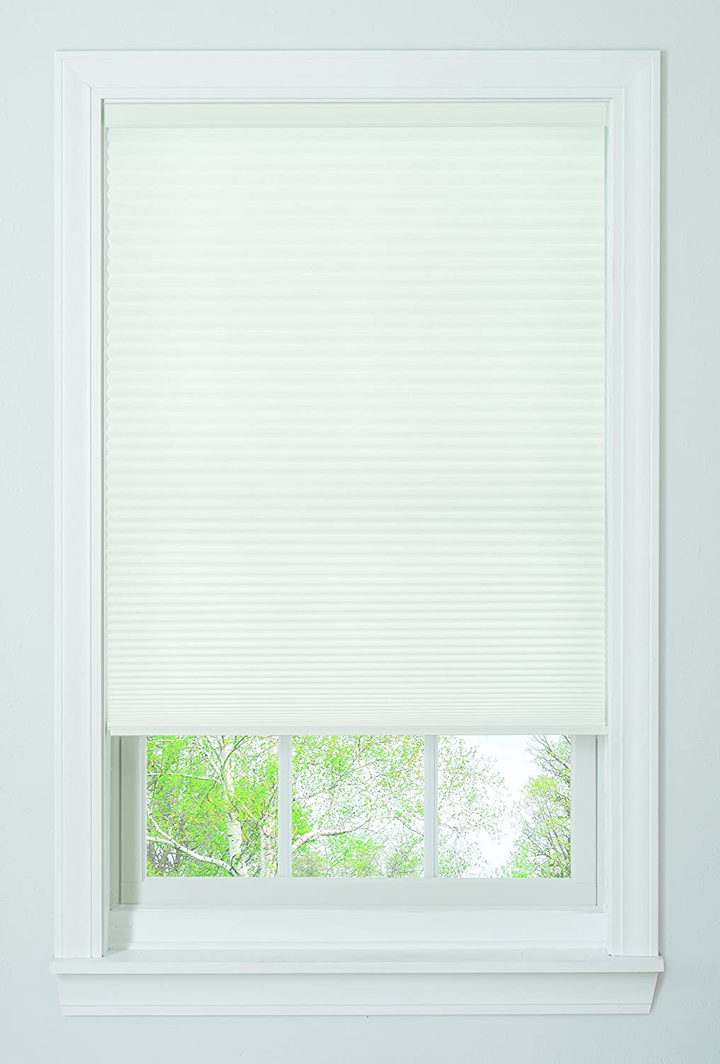 "Bali Blinds Cordless Light Filtering Cellular Shade, 34"" x 64"", White"