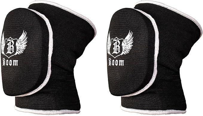 negro Rodilleras acolchadas para jard/ín Boom Prime