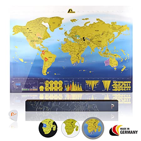 Amazy scratch off world map xxl free travel check list scratch amazy scratch off world map xxl free travel check list scratch off the gumiabroncs