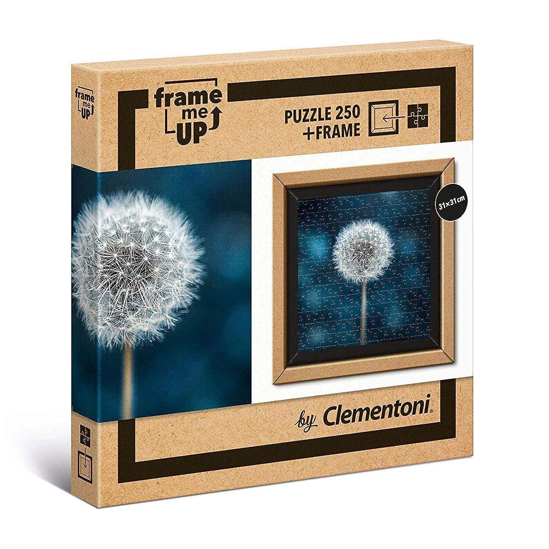 Puzzle 250 Teile mit Rahmen Pusteblume Puzzel Blume Blumen Stilleben modern teilig quadratisch 31x31cm zum Aufh/ängen f/ür Erwachsene Rahmenpuzzle Besch/äftigen Entspannen Kreativit/ät Pflanze L/öwenzahn