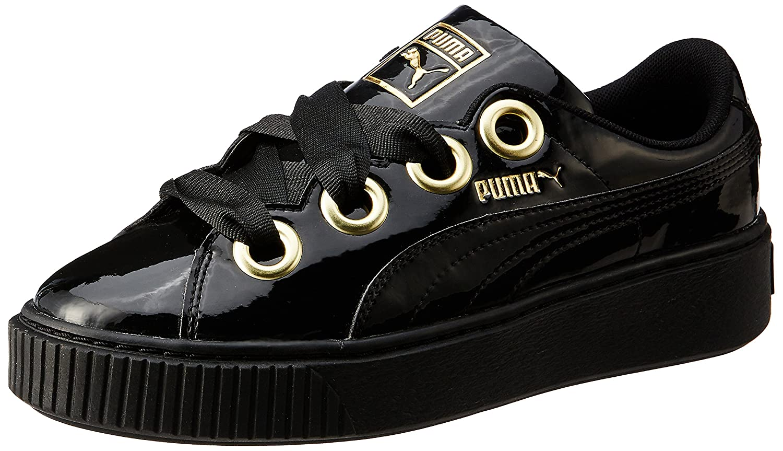best sneakers 75093 6cb1c Puma Women's Platform Kiss Patent Wn SWomen Sneakers