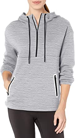 Amazon Essentials Women's Fleece Lined Pullover Hoodie Anorak