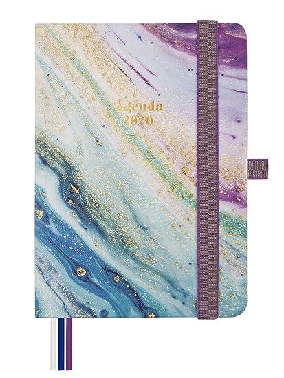 Finocam - Agenda 2020 1 día página Mínimal Design Iris catalán