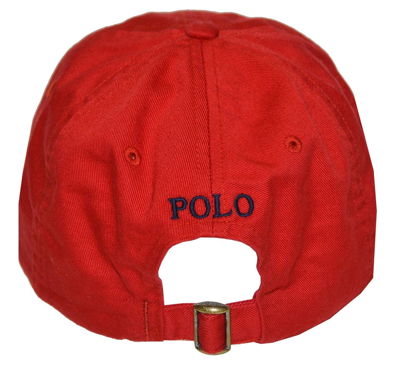 Polo Ralph Lauren Mens Twill Signature Ball Cap: Amazon.es: Ropa y ...