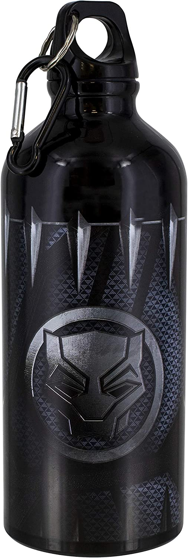 Paladone - Botella metálica Marvel Black Panther (PS)