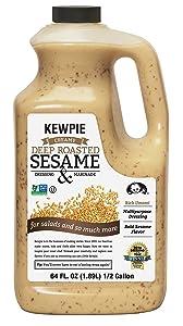 Kewpie Deep Roasted Sesame Dressing, 64 Ounce