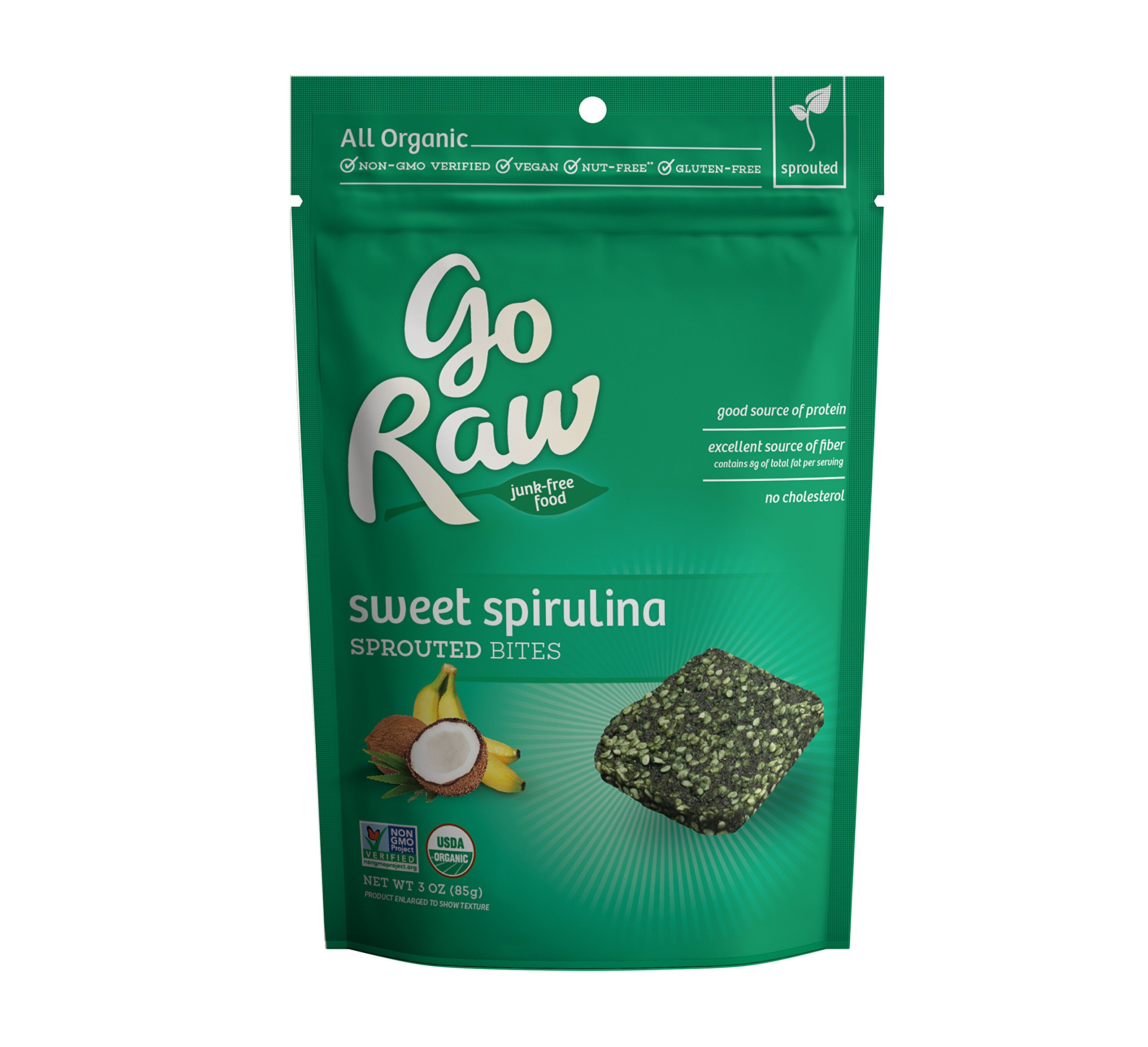 Amazon.com : Go Raw Organic Superfood Sprouted Cookie Crisps, Sweet ...