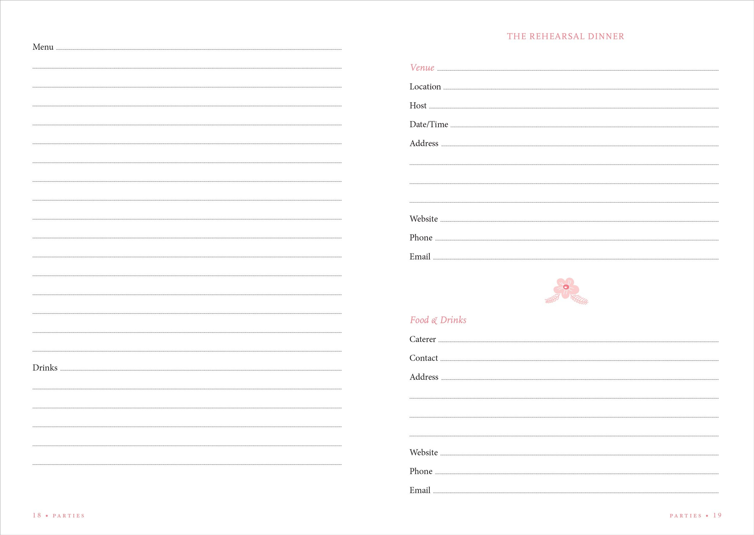 The Wedding Planner Checklist A Portable Guide To Organizing Your