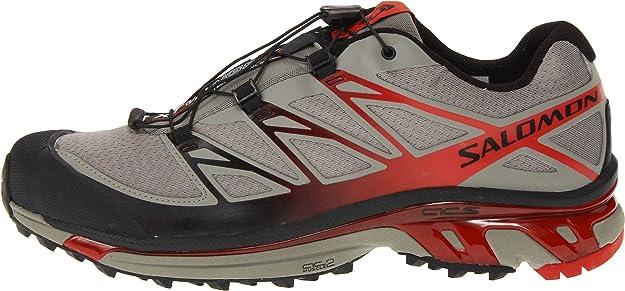 salomon xt wings 3 zapatilla de trail running caballero gris rh amazon es