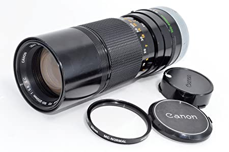 Review CANON FD 100-200mm F5.6