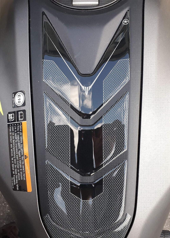 ADHÉSIF sur- RÉSERVOIR résine 3D compatible avec MOTO YAMAHA MT-07 à partir de 2018 Labelbike
