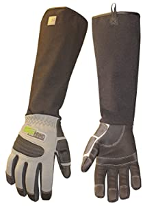 ArmOR Hand Glove, Full Finger Animal Handling Gloves, Veterinarian Zookeeper Wildlife Handling Gloves in Small