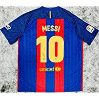 Barcelona Lionel Messi Signed Soccer Jersey Auto Beckett BAS COA - Autographed Soccer Jerseys photo