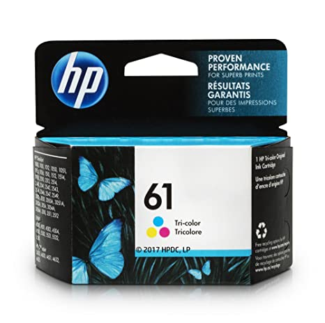 HP 61 Ink Cartridge Tri Color CH562WN For Deskjet 1000 1010