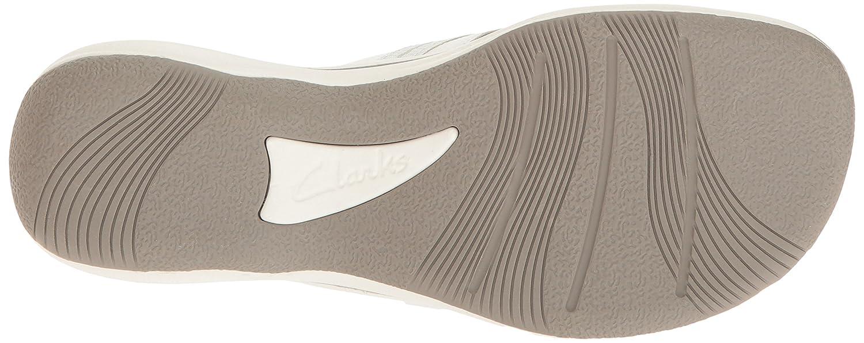 Clarks Damens's Brinkley Jazz Weiß Flip Flop Weiß Jazz Synthetic 32e617
