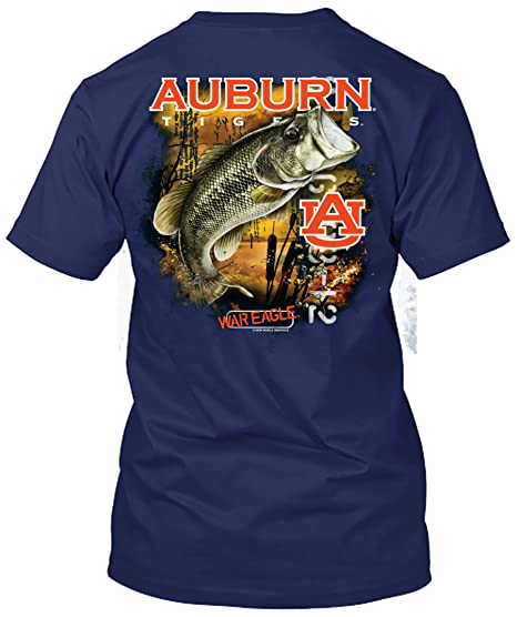 56dec607 New World Graphics NCAA - Bass Fishing T Shirt - Multiple Universities  Available - up to