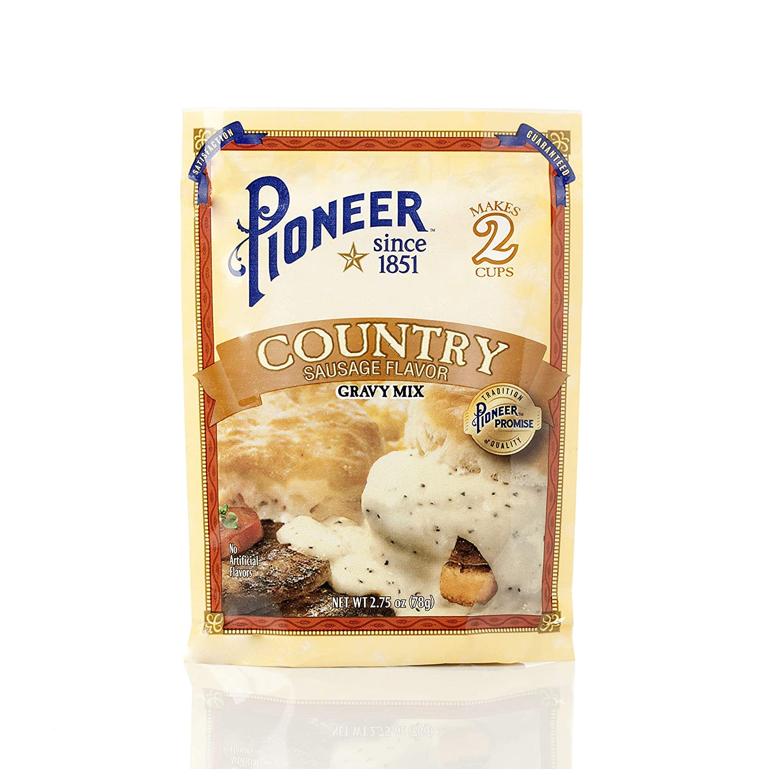 Pioneer Country Sausage Gravy Mix, 2.75 Ounce (Pack of 12)