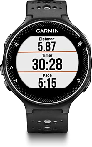 Garmin Forerunner 235, GPS Running Watch, Black Gray