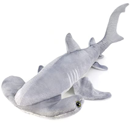 Amazon Com Viahart Mc The Hammerhead Shark Over 2 1 2 Foot Long