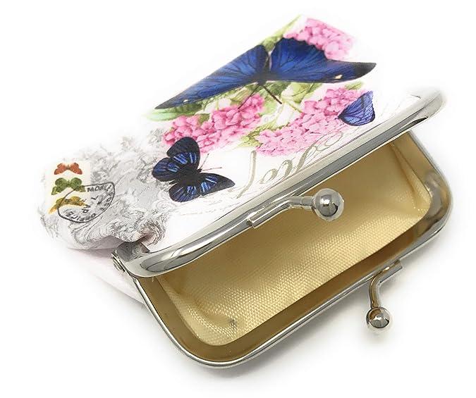 Amazon.com: Value Arts - Monedero con diseño de mariposa ...