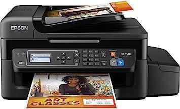 Amazon.com: Epson WorkForce ET-4500 EcoTank Impresora ...