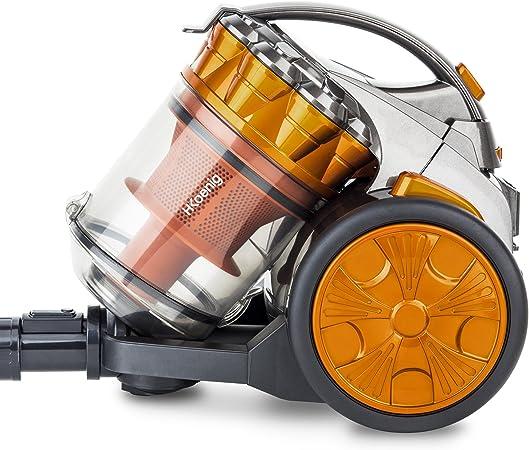 H.KOENIG STC60 Aspirador Multi Ciclónico sin bolsa Compact + ...