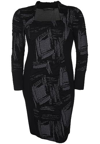 Doris Streich -  Vestito  - fasciante - Maniche lunghe  - Donna grigio medio 38