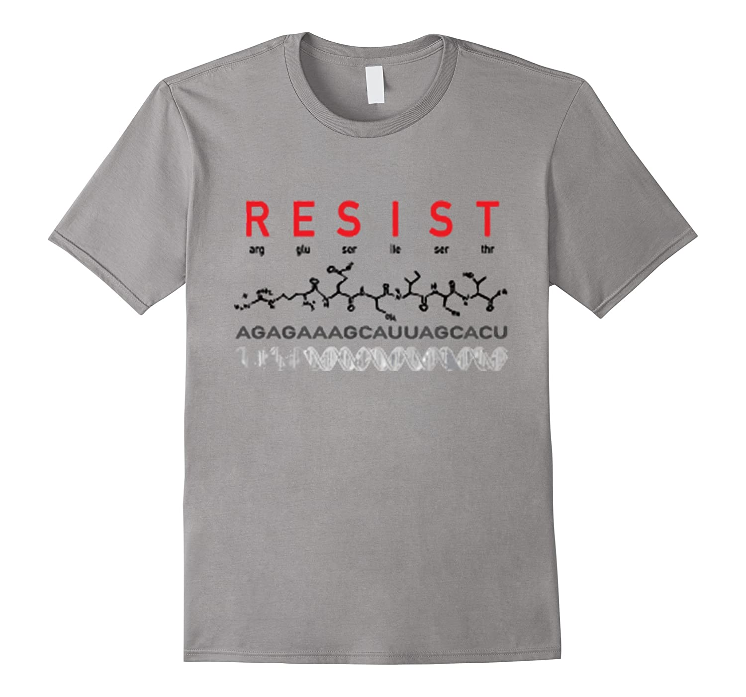 RESIST (peptide) TShirt - Science March Earth Scientists TS-TH