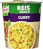 Knorr Snack Bar Reis Snack Curry 1 Portion, 8er-Pack