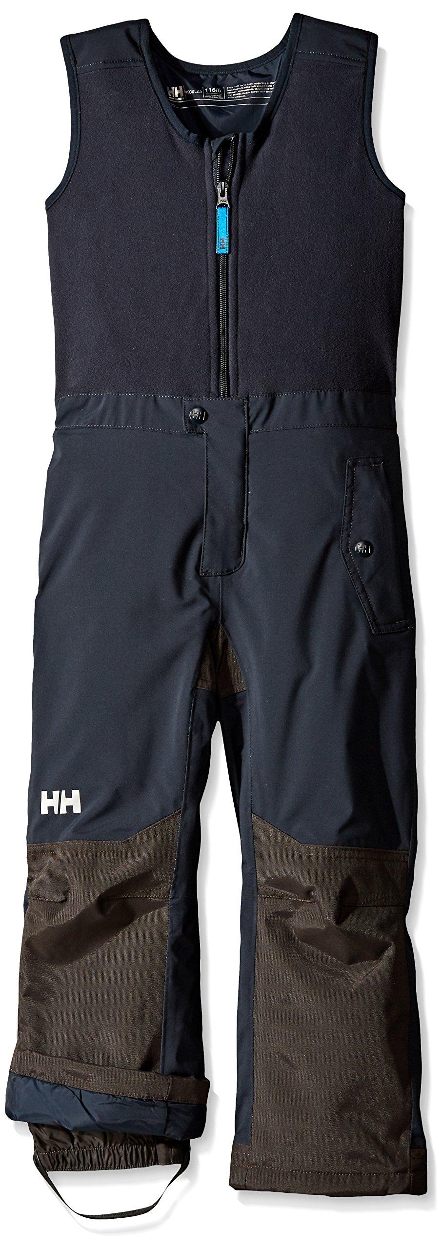 Helly Hansen Kids Powder Bib Pants, Navy, 1
