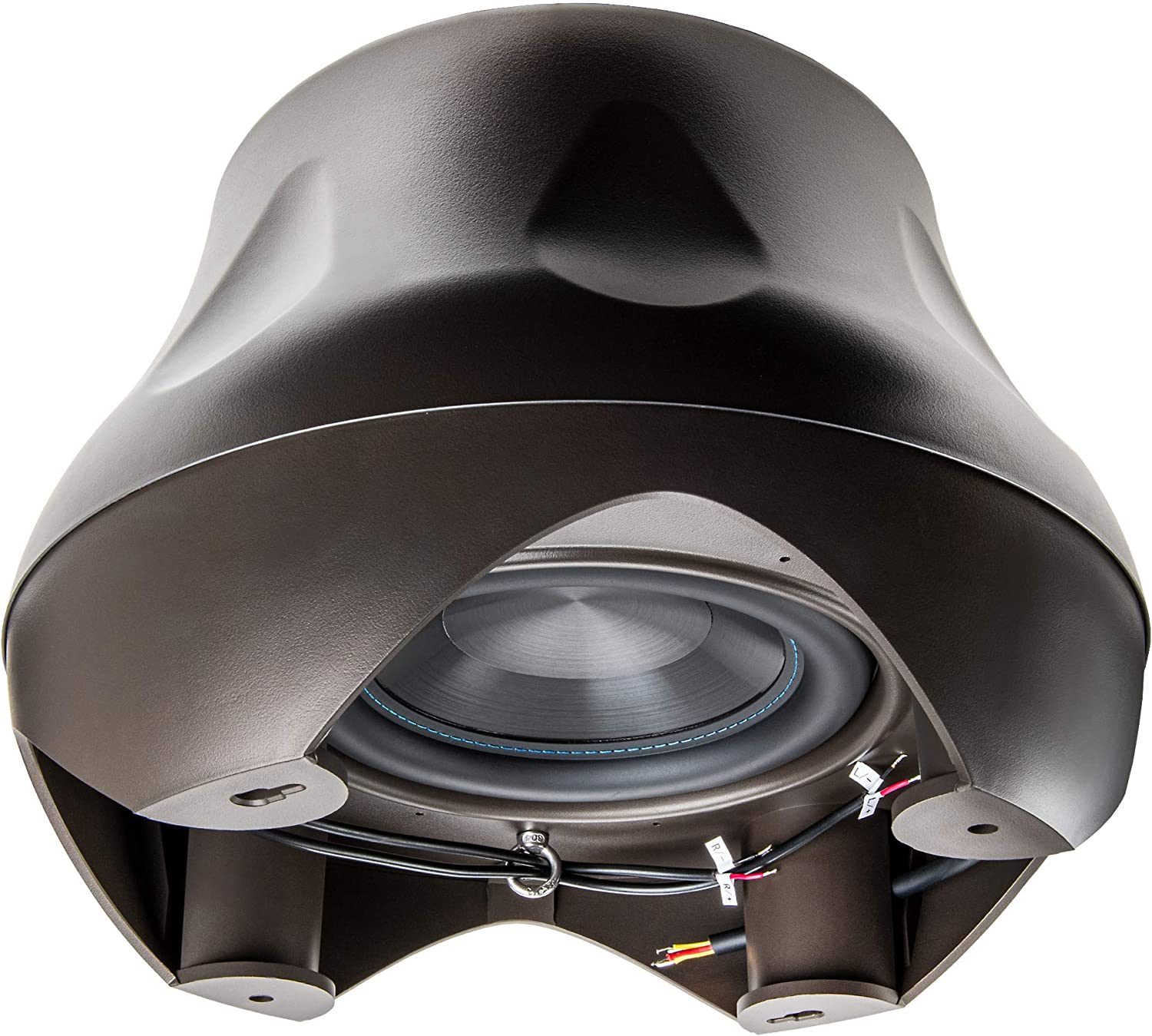 OSD Audio Forza 10 Cross Omni-Directional Weather Resistant 300W Subwoofer w/Internal Crossover and 2X Stereo Satellite Speaker Output