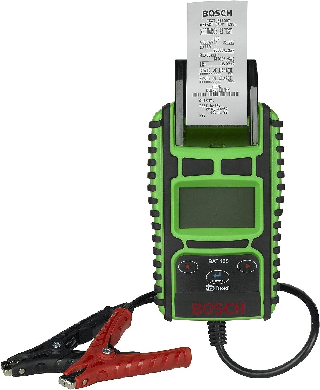 Bosch 1699200244 Batterietester Bat 135 Mit Integriertem Drucker Auto