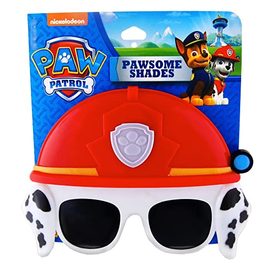 5376db9b1a Amazon.com  Paw Patrol Marshall Costume Mask   Sunglasses  Clothing