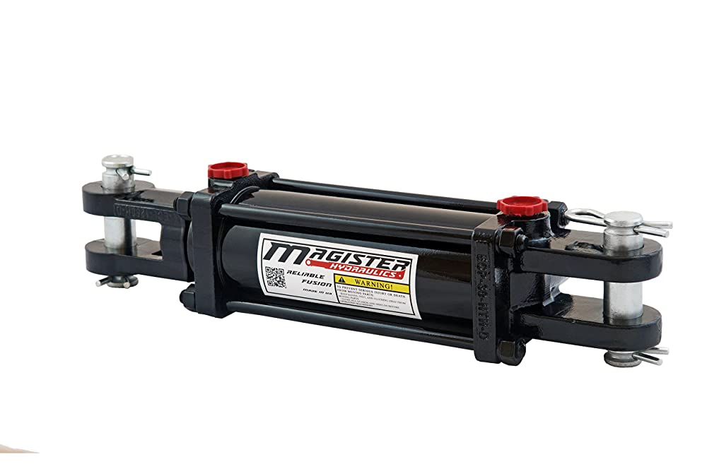 10. Magister Hydraulics Tie-rod Hydraulic Cylinder Double Acting