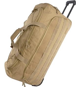 Amazon.com: Highland Tactical - Bolsa de viaje con ruedas ...
