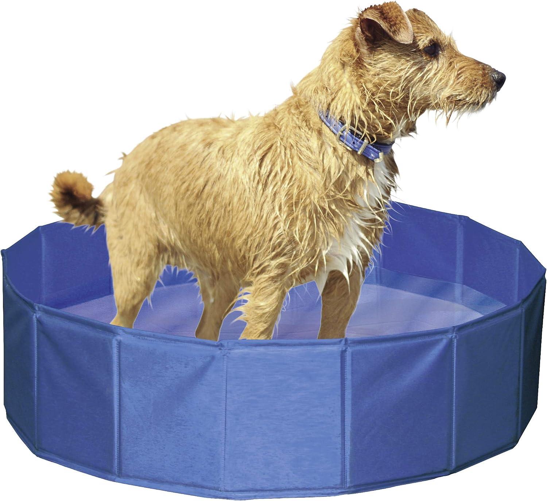 Piscina para perros Ø 80 cm, altura 20 cm: Amazon.es: Productos ...