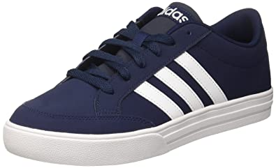 adidas Men's Vs Low-Top Sneakers, Blue (Collegiate Navy/FTWR White)
