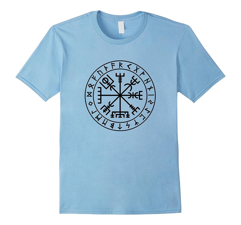 Vegvisir T Shirt Norse Viking Protection Symbol T Shirt Vaci Vaciuk