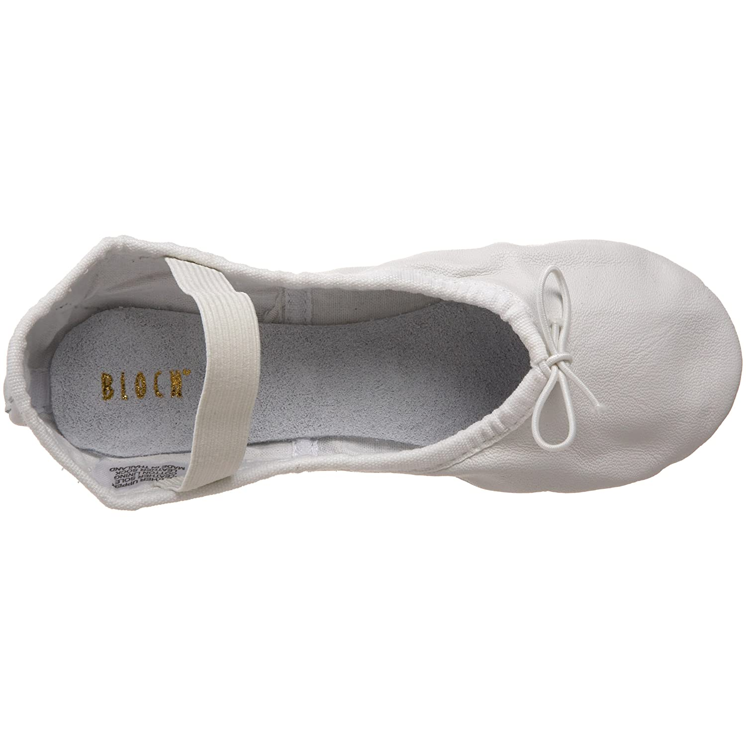 Bloch Dance Girls Dansoft Full Sole Leather Ballet Slipper//Shoe
