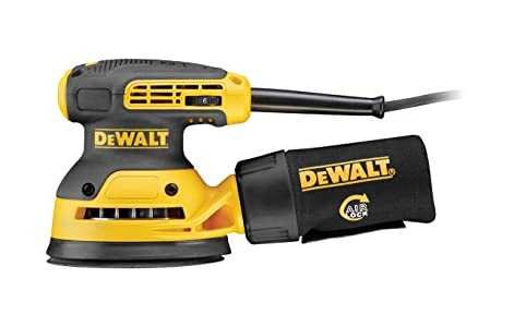 Dewalt DWE6423-QS Ponceuse excentrique, 280 W, Jaune/noir, 125 mm