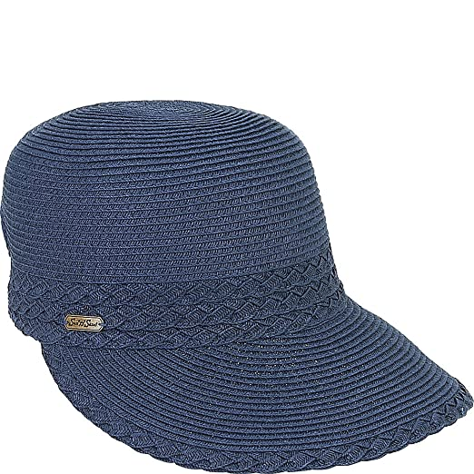 50f9e5f1fc7 Amazon.com  Sun  N  Sand Backless Hat (Navy)  Sports   Outdoors