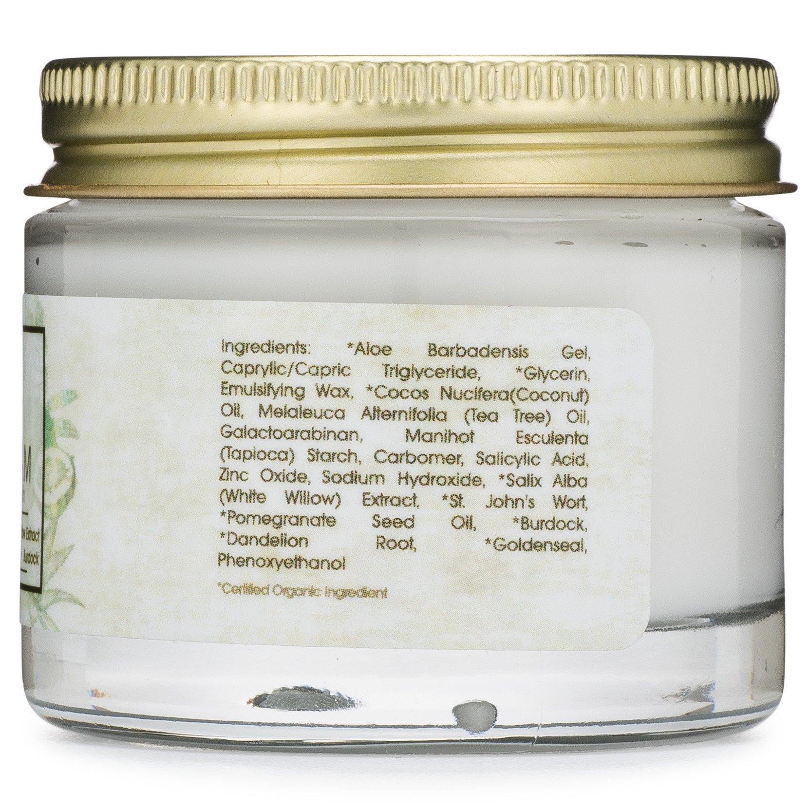 Burdock root facial cream