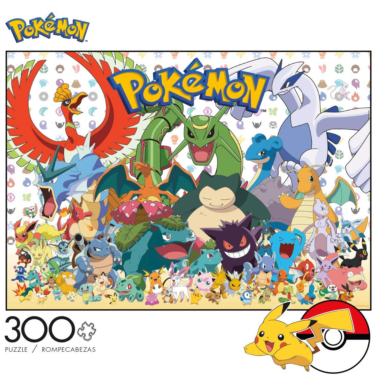 Buffalo Games Pokemon 300 Largepiece Jigsaw Puzzle Fan Favorites