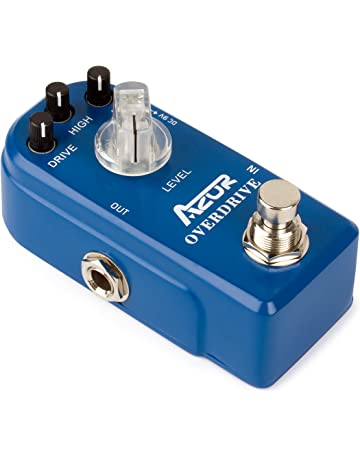 AZOR Classical Electronic Overdrive Guitar Effect Pedal True Bypass Blue