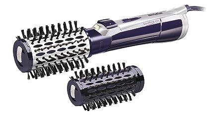 BaByliss iPro 800 - Cepillo rotativo, 800 W, color violeta y blanco