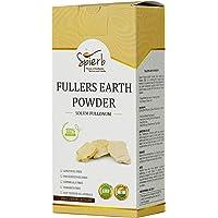 Spierb Fullers Earth Powder Indian Healing Clay Bentonite Clay Multani Mitti Mud Powder for Face Mask Pure Multani Clay…
