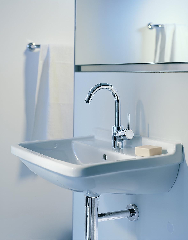 Amazon.com: Hansgrohe Talis S Single lever basin mixer swivel spout ...