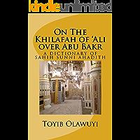 On The Khilafah of 'Ali over Abu Bakr