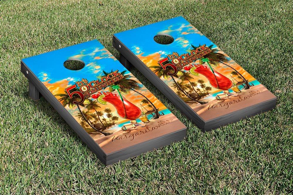 Margaritaville Regulation Cornhole Game Set Its 5 Oclock Somewhere Version