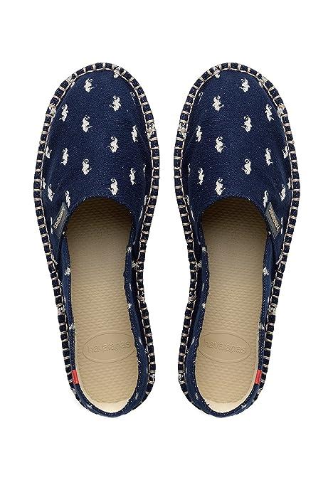 Havaianas Alpargatas para Mujer Azul Azul: Amazon.es: Zapatos y complementos